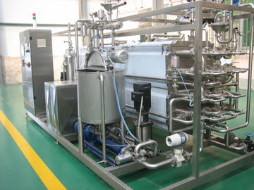 Fruit Juice And Milk Sterilizer Machine For Food Prodution Line 50L / 100L / 220L