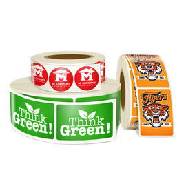 Custom Made Roll Sticker Labels For Printing Sticker Labelling Machine